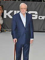 "Sir Michael Caine at the ""King of Thieves"" world film premiere, Vue West End, Leicester Square, London, England, UK, on Wednesday 12 September 2018.<br /> CAP/CAN<br /> ©CAN/Capital Pictures"