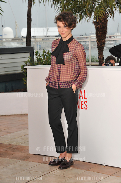 """Jasmine Trinca at photocall for her movie """"Miele"""" at the 66th Festival de Cannes..May 18, 2013  Cannes, France.Picture: Paul Smith / Featureflash"""