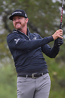 Jimmy Walker (USA) watches his tee shot on 2 during Round 3 of the Valero Texas Open, AT&amp;T Oaks Course, TPC San Antonio, San Antonio, Texas, USA. 4/21/2018.<br /> Picture: Golffile   Ken Murray<br /> <br /> <br /> All photo usage must carry mandatory copyright credit (&copy; Golffile   Ken Murray)