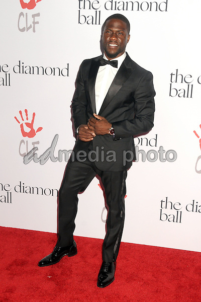 10 December 2015 - Santa Monica, California - Kevin Hart. 2nd Annual Diamond Ball held at Barker Hangar. Photo Credit: Byron Purvis/AdMedia