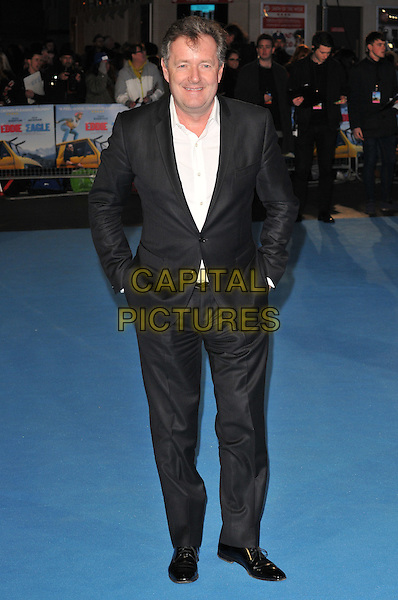 Piers Morgan attends the &quot;Eddie The Eagle&quot; European film premiere, Odeon Leicester Square cinema, Leicester Square, London, UK, on Thursday 17 March 2016.<br /> CAP/CAN<br /> &copy;Can Nguyen/Capital Pictures