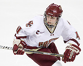Melissa Bizzari (BC - 4) - The Boston College Eagles defeated the Boston University Terriers 2-1 in the opening round of the Beanpot on Tuesday, February 8, 2011, at Conte Forum in Chestnut Hill, Massachusetts.