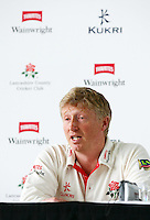 PICTURE BY VAUGHN RIDLEY/SWPIX.COM - Cricket - County Championship - Lancashire County Cricket Club 2012 Media Day - Old Trafford, Manchester, England - 03/04/12 - Lancashire CCC's Captain Glen Chapple.