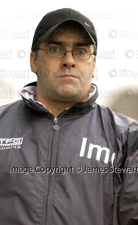 05/02/2005  Copyright Pic : James Stewart.File Name : jspa33_qots_v_dundee_utd.DUNDEE UTD MANAGER IAN MCCALL DURING THE SCOTTISH CUP 4TH ROUND CLASH AGAINST QUEEN OF THE SOUTH...Payments to :.James Stewart Photo Agency 19 Carronlea Drive, Falkirk. FK2 8DN      Vat Reg No. 607 6932 25.Office     : +44 (0)1324 570906     .Mobile   : +44 (0)7721 416997.Fax         : +44 (0)1324 570906.E-mail  :  jim@jspa.co.uk.If you require further information then contact Jim Stewart on any of the numbers above.........A