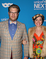 LOS ANGELES, CA - OCTOBER 27: Freddy & Francine at the Fourth Annual UNICEF Masquerade Ball Los Angeles at Clifton's Cafeteria in Los Angeles, California on October 27, 2016. Credit: Faye Sadou/MediaPunch