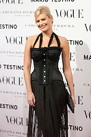 Maya Hansen at Vogue December Issue Mario Testino Party