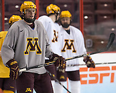- The University of Minnesota Golden Gophers took part in a press conference and practice on Friday, April 11, 2014, during the 2014 Frozen Four at the Wells Fargo Center in Philadelphia, Pennsylvania.