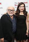 Danny DeVito and Lucy DeVito attends The Actors Fund Annual Gala at the Marriott Marquis on 5/8//2017 in New York City.