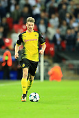 13th September 2017, Wembley Stadium, London, England; Champions League Group stage, Tottenham Hotspur versus Borussia Dortmund; Łukasz Piszczek of Borussia Dortmund
