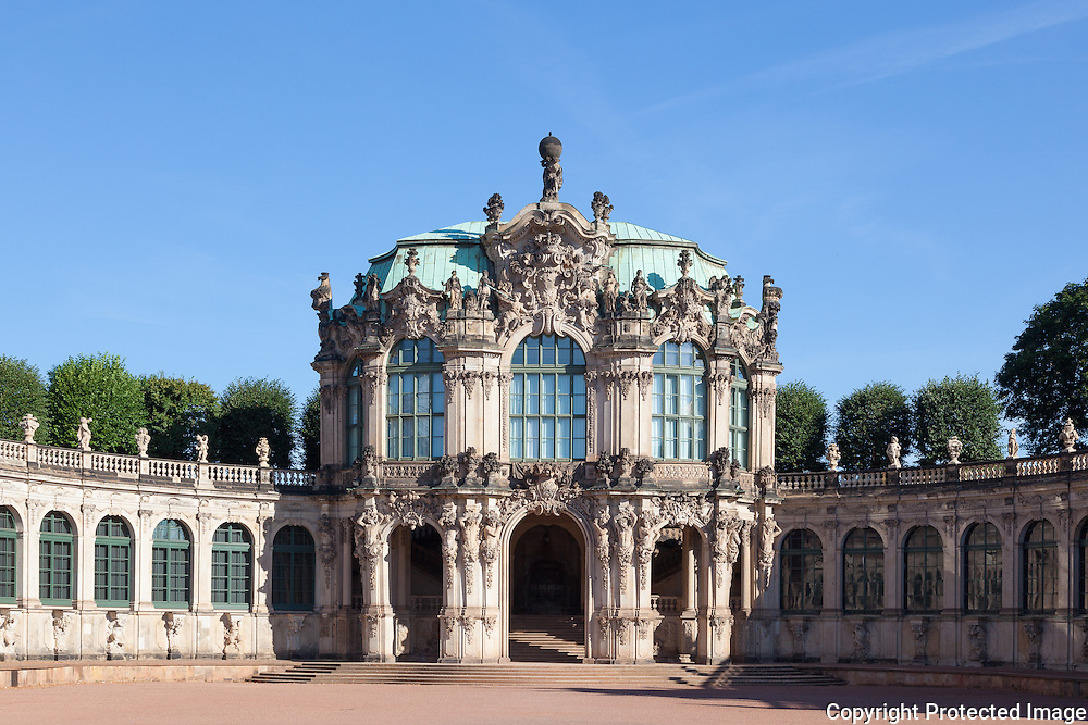 Rampart Pavilion, The Zwinger, Dresden | Quintin Lake Photography