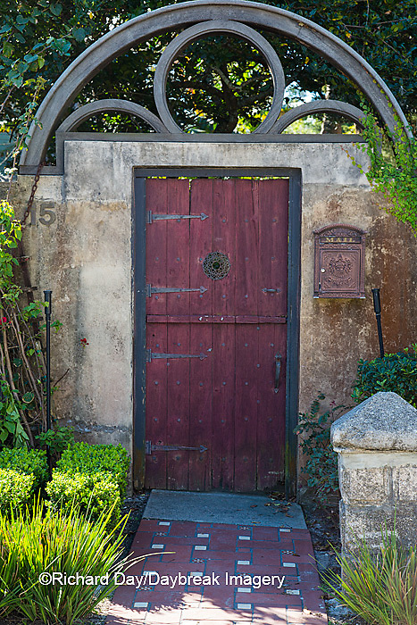 63412-01110 Red gate in St Augustine, FL