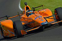 Verizon IndyCar Series<br /> Indianapolis 500 Practice<br /> Indianapolis Motor Speedway, Indianapolis, IN USA<br /> Tuesday 16 May 2017<br /> Fernando Alonso, McLaren-Honda-Andretti Honda<br /> World Copyright: F. Peirce Williams