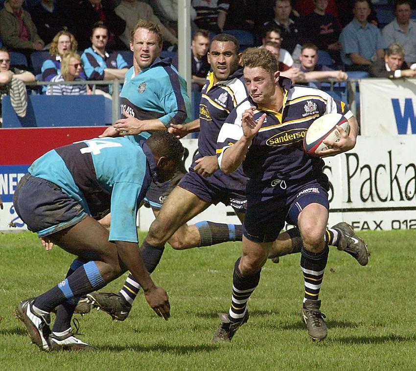 Photo:Ken Brown.29.4.2000 Bedford v Bristol.David Rees