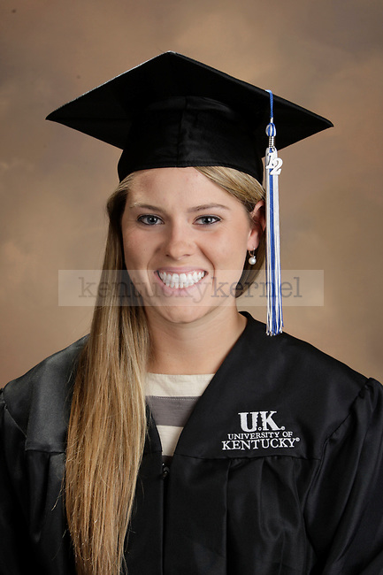 Gustafson, Ashleigh photographed during the October, 2012, Grad Salute in Lexington, Ky.