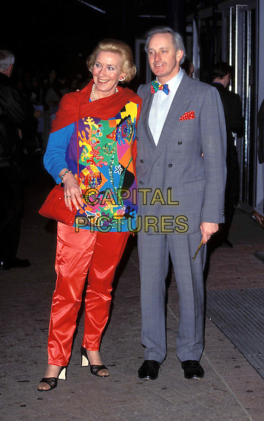 CHRISTINE & NEIL HAMILTON.(ex) politician.Ref: 9403.www.capitalpictures.com.sales@capitalpictures.com.© Capital Pictures