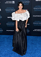 "LOS ANGELES, USA. December 17, 2019: Tiffany Smith at the world premiere of ""Star Wars: The Rise of Skywalker"" at the El Capitan Theatre.<br /> Picture: Paul Smith/Featureflash"
