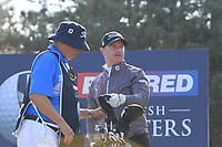 Richard McEvoy (ENG) on the 11th tee during Round 3 of the Betfred British Masters 2019 at Hillside Golf Club, Southport, Lancashire, England. 11/05/19<br /> <br /> Picture: Thos Caffrey / Golffile<br /> <br /> All photos usage must carry mandatory copyright credit (&copy; Golffile | Thos Caffrey)
