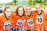 Sarah Slattery, Annie Potts, Leanne Pierce and Lynn O'Shea Killarney South having fun at the Denny County Community Games in An Riocht Castleisland on Sunday    Copyright Kerry's Eye 2008