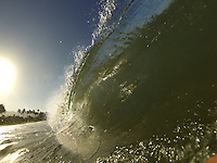SouthSide Maui , small swell on summer.Clean shore break.