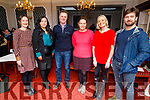 Attending the Kerry Colleges Health Promotion Seminar in the Imperial Hotel on Thursday.<br /> L to r: Maura O'Leary (HSE Health Promotion Officer), Michaela Brosnan (Teacher Kerry College), Sean Daly (Killarney Area of PI AA), Margaret Thornton (Kerry College), Miriam Galvin (Kerry College) and Michael Breen (Member of AA).