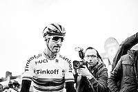Pictures by Russell Ellis/SWpix.com - 10/04/2016 - Cycling - Paris-Roubaix - France - Paris-Roubaix 2016 - Peter Sagan of Team Tinkoff-Saxo before the race