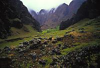 Na Pali Coast S.P. old taro lo'i, Nualolo aina archealogical sites