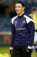 Tim Cahill of Millwall during the Sky Bet Championship match between Millwall and Sheff Wednesday at The Den, London, England on 20 February 2018. Photo by Carlton Myrie.