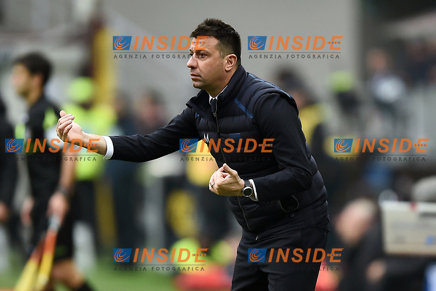 Roberto D'aversa<br /> Milano 2-12-2018 Stadio San Siro Football Calcio Serie A 2018/2019 AC Milan - Parma Foto Image Sport / Insidefoto