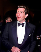 John F. Kennedy, Jr. attends the 1999 White House Correspondents Association annual dinner at the Washington Hilton Hotel in Washington, D.C. on May 1, 1999..Credit: Ron Sachs / CNP.
