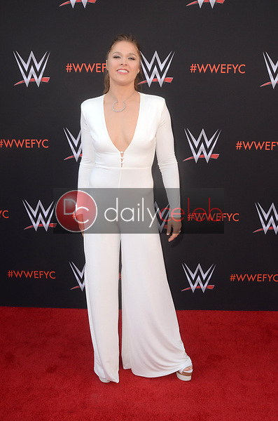 Ronda Rousey<br /> at the WWE EMMY For Your Consideration Event, Saban Media Center, North Hollywood, CA 06-06-18<br /> David Edwards/Dailyceleb.com 818-249-4998