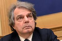 Roma, 2 Marzo 2016<br /> Renato Brunetta<br /> Conferenza stampa del Segretario del Sindacato Autonomo di Polizia<br /> La conferenza stampa alla Camera di Gianni Tonelli, Segretario del SAP (Sindacato Autonomo di Polizia), da pi&ugrave; di 40 giorni in sciopero della fame per protestare contro i tagli del Governo alle forze dell'ordine,