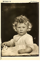 BNPS.co.uk (01202 558833)<br /> Pic: MarcusAdams/ChiswickAuctions/BNPS<br /> <br /> Princess Elizabeth 1 1/4 years of age in 1927.<br /> <br /> Charming childhood photos of Princess Elizabeth and Princess Margaret have come to light, including a previously unseen image of the future Queen in a kilt.<br /> <br /> The portraits, taken by acclaimed British society photographer Marcus Adams, capture the future Queen from being a baby to her adolescence.<br /> <br /> The Queen Mother would often take her daughters to his central London studio where he would set up toys and props to keep them entertained