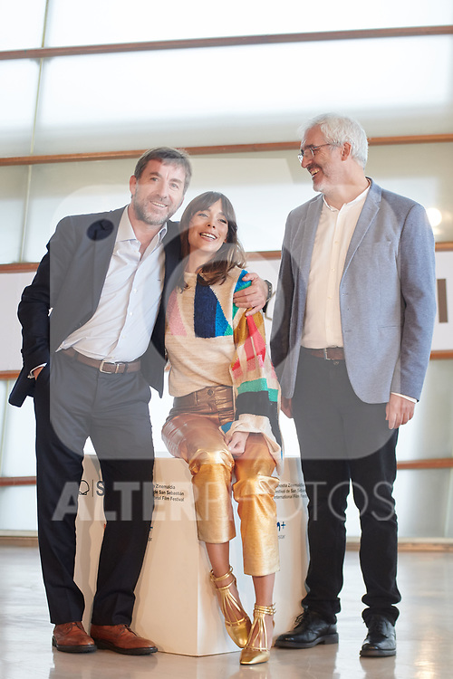 Belen Cuesta, Antonio de la Torre and Vicente Vergara attend the photocall of 'La trinchera infinita' during the 67th San Sebastian Donostia International Film Festival - Zinemaldia.September 22,2019.(ALTERPHOTOS/Yurena Paniagua)