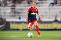 Boyds, MD - Saturday June 25, 2016: Tori Huster during a United States National Women's Soccer League (NWSL) match between the Washington Spirit and Sky Blue FC at Maureen Hendricks Field, Maryland SoccerPlex.