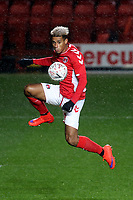 Lyle Taylor, scorer of Charlton's opening goal during Charlton Athletic vs Mansfield Town, Emirates FA Cup Football at The Valley on 20th November 2018