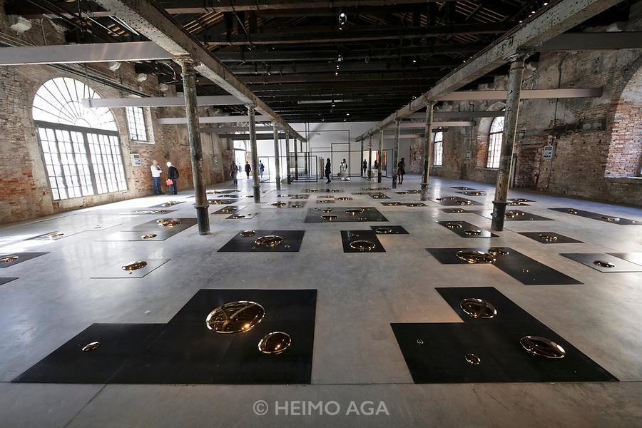 57th Art Biennale in Venice - Viva Arte Viva.<br /> Arsenale. Liu Jianhua: Square, 2016