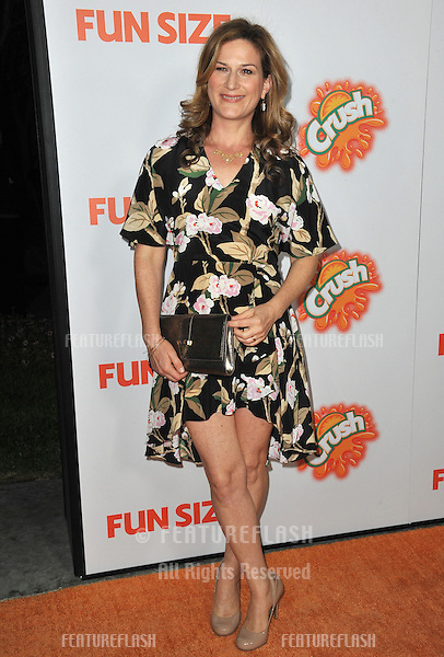 "Ana Gasteyer at the Los Angeles premiere of her new movie ""Fun Size"" at the Paramount Theatre, Hollywood..October 25, 2012  Los Angeles, CA.Picture: Paul Smith / Featureflash"