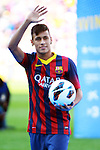 2013-06-03-Presentation of Neymar da Silva Jr. as new player of FC Barcelona.
