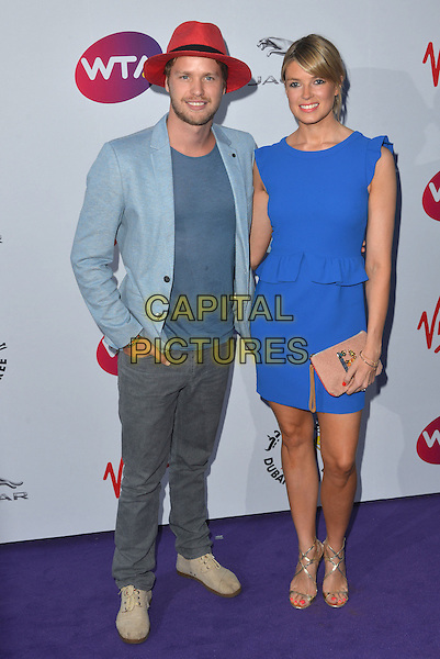 Sam Branson, Isabella Calthorpe<br /> attending the WTA Pre-Wimbledon Party at  The Roof Gardens, Kensington, London England 25th June 2015.<br /> CAP/PL<br /> &copy;Phil Loftus/Capital Pictures