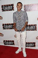 HOLLYWOOD, CA - JULY 20: Donis Leonard Jr. at the opening of 'Cabaret' at the Pantages Theatre on July 20, 2016 in Hollywood, California. Credit: David Edwards/MediaPunch