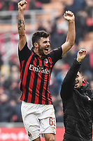 Patrick Cutrone<br /> Milano 2-12-2018 Stadio San Siro Football Calcio Serie A 2018/2019 AC Milan - Parma Foto Image Sport / Insidefoto