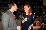 LOS ANGELES - DEC11: Scott Nevins, Elisa Donovan at Scott Nevins Presents SPARKLE: An All-Star Holiday Concert to benefit The Actors Fund at Rockwell Table & Stage on December 11, 2014 in Los Angeles, California