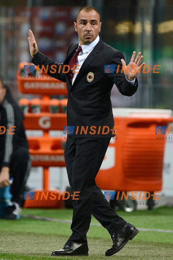 Cristian Brocchi Milan<br /> Milano 21-04-2016 Stadio Giuseppe Meazza - Football Calcio Serie A Milan - Carpi. Foto Giuseppe Celeste / Insidefoto