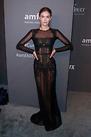 NEW YORK, NY - FEBRUARY 6: Megan Williams arriving at the 21st annual amfAR Gala New York benefit for AIDS research during New York Fashion Week at Cipriani Wall Street in New York City on February 6, 2019. <br /> CAP/MPI99<br /> ©MPI99/Capital Pictures