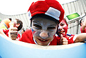 Chile kids fans (CHI), JUNE 18, 2014 - Football / Soccer : FIFA World Cup Brazil<br /> match between Spain and Chile at the Maracana Stadium in Rio de Janeiro, Brazil. (Photo by AFLO)