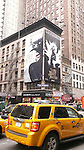 Charlize Theron simply demands to be seen as the 'Evil Queen' this billboard for Snow White & the Huntsman along with Kristen Stewart as 'Snow White' herself. Times Square on August 26, 2012 in New York City.