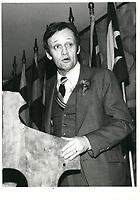 Jean Chretien, le 3 mars 1979<br /> <br /> PHOTO :  Agence Quebec Presse