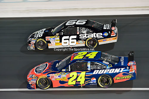Oct 11, 2008; 7:40:26 PM;  Concord, NC, USA; Nascar Sprint Cup Series for the Bank of America 500  at Lowe's Motor Speedway. Mandatory Credit: Joey Millard
