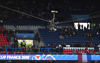 20190607 - PARIS , FRANCE : illustration picture shows the hawkeye camera during the female soccer game between France – Les Bleues  and Korea Republic, the opening game and first game for both teams in group A during the FIFA Women's  World Championship in France 2019, Friday 7 th June 2019 at the Parc des Princes Stadium in Paris , France .  PHOTO SPORTPIX.BE | DAVID CATRY