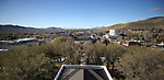 Views from the Capitol dome in Carson City, Nev., on Tuesday, April 17, 2018. <br /> Photo by Cathleen Allison/Nevada Momentum